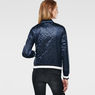 G-Star RAW® Bomber Quilted Jacket Dark blue model back