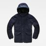 G-Star RAW® Expedic Hooded Cotton Jacket Dark blue flat front