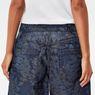 G-Star RAW® 5621 Pouch Cirex High Waist Shorts Dark blue front flat