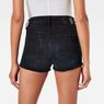 G-Star RAW® 3301 Ultra High Waist TU Shorts Dark blue front flat