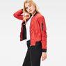 G-Star RAW® Rackam Slim Bomber Red model front