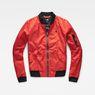 G-Star RAW® Rackam Slim Bomber Red flat front