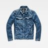 G-Star RAW® 3301 Deconstructed 3D Slim Jacket Medium blue flat front