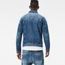 G-Star RAW® 3301 Deconstructed 3D Slim Jacket Medium blue model back