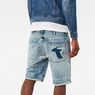 G-Star RAW® 5621 3D 1/2 Length Shorts Light blue model front