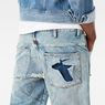 G-Star RAW® 5621 3D 1/2 Length Shorts Light blue model back zoom