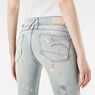 G-Star RAW® Lynn Mid Waist Skinny Jeans Light blue