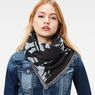 G-Star RAW® Cart Pattern Scarf Dark blue