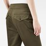 G-Star RAW® Bronson Army Mid Waist Boyfriend Pants Green model back zoom