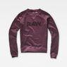 G-Star RAW® Daefera Cropped Sweater Purple flat front