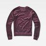 G-Star RAW® Daefera Cropped Sweater Purple flat back