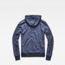 G-Star RAW® Core Hooded Zip Sweater Dark blue flat back