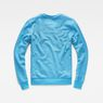 G-Star RAW® Core Art Sweater Medium blue flat back