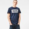 G-Star RAW® Dutch-Camo Art T-Shirt Dark blue model front