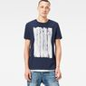 G-Star RAW® Pertos T-Shirt Dark blue model front