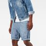 G-Star RAW® Bronson 1/2 Length Shorts Light blue model front
