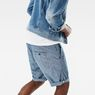 G-Star RAW® Bronson 1/2 Length Shorts Light blue model back