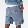 G-Star RAW® Bronson 1/2 Length Shorts Light blue model back zoom