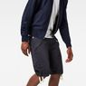 G-Star RAW® Rovic Deconstructed Loose 1/2-Length Pants Dark blue model front