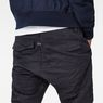 G-Star RAW® Rovic Deconstructed Loose 1/2-Length Pants Dark blue model back zoom