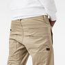 G-Star RAW® D-Staq 3D Tapered Pants Beige model back zoom