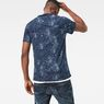 G-Star RAW® SK Classic Bound T-Shirt Dark blue model back