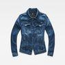G-Star RAW® 3301 Denim Jacket Blue flat front