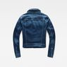 G-Star RAW® Modern Arc Cropped Denim Medium blue flat back