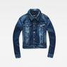 G-Star RAW® Modern Arc Cropped Denim Medium blue flat front