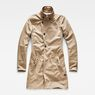 G-Star RAW® Minor Slim Trench Beige flat front
