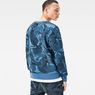 G-Star RAW® Dutch-Camo Core Sweater Light blue model back