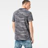 G-Star RAW® Daefon Pattern T-Shirt Light blue model back