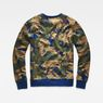 G-Star RAW® Dutch-Camo Core Sweater Green model side
