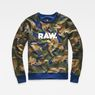 G-Star RAW® Dutch-Camo Core Sweater Green model front