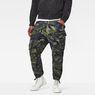 G-Star RAW® Rovic Loose 7/8-Length Cargo Pants Green model front