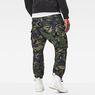 G-Star RAW® Rovic Loose 7/8-Length Cargo Pants Green model back