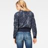 G-Star RAW® SK Fyx Biker Sweater Dark blue model back