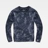 G-Star RAW® SK Fyx Biker Sweater Dark blue flat front