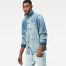 G-Star RAW® Blake Overshirt Light blue model side