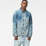 G-Star RAW® Blake Overshirt Light blue model front