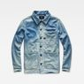 G-Star RAW® Blake Overshirt Light blue flat front