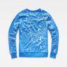G-Star RAW® Splatter Core Sweater Light blue flat back