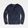 G-Star RAW® Craia Fyx Biker Sweater Dark blue flat front