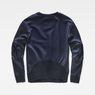 G-Star RAW® Craia Fyx Biker Sweater Dark blue flat back