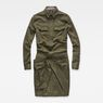G-Star RAW® Rovic Wrap Dress Green flat front
