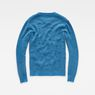 G-Star RAW® Affni Cable Knit Medium blue flat back