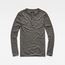 G-Star RAW® Core Granddad T-Shirt Grey flat front