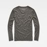 G-Star RAW® Core Granddad T-Shirt Grey flat back