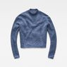 G-Star RAW® Fogela Knit Medium blue flat front