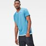 G-Star RAW® Bonded V-Neck T-Shirt Light blue model front